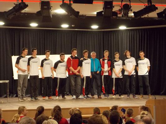 2. Platz männliche B-Jugend