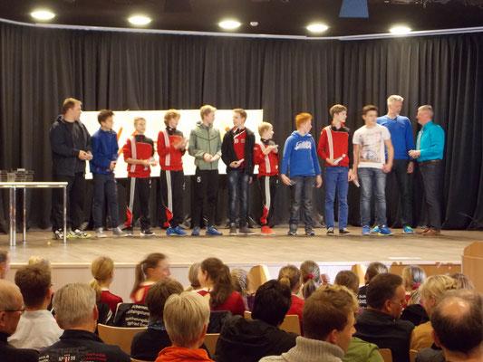1. Platz männliche D-Jugend