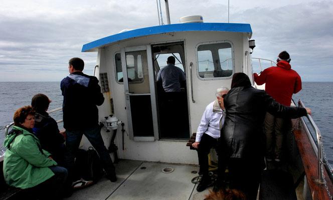 Auf dem Weg zu den Skelligs