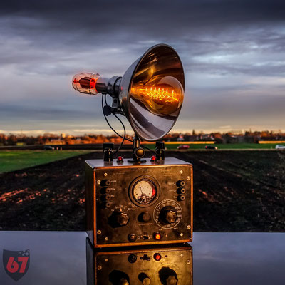 Ultrakust Voltmeter upcycling lamp - Jürgen Klöck - 2018