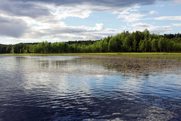 """Unser offizieller Campingplatz hat einen """"eigenen"""" See"""