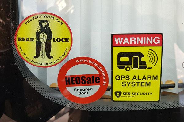 """Jaja, die Sicherheit - letztendlich kommen """"die bösen Buben"""" sowieso überall rein!"""