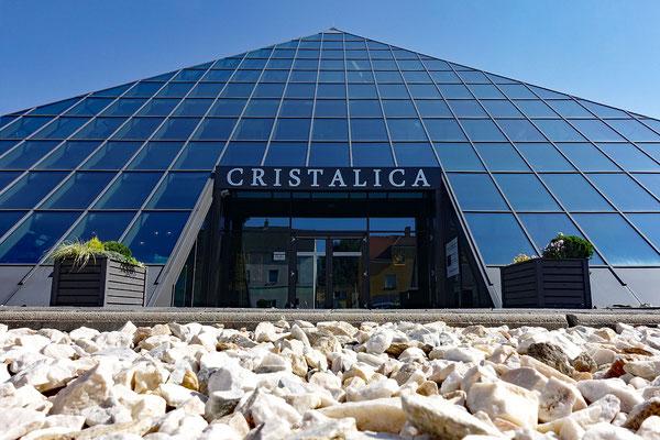 """In der Lausitz wird traditionell Glas verarbeitet - unseren Geschmack traf der """"Nippes"""" nicht ..."""