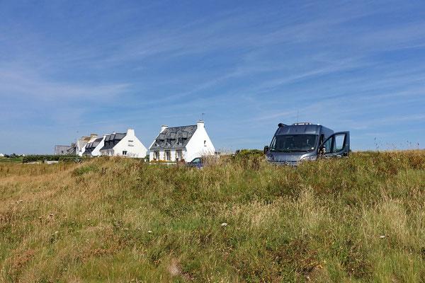 Das rechte Strandhaus ist unseres ... (A)