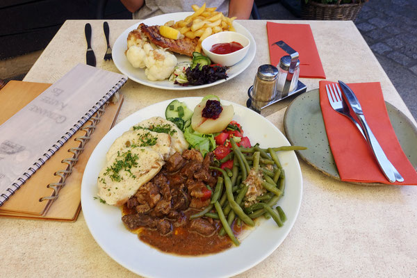Gutes Mittagsessen im Forsthaus Erlichhof/Rietschen