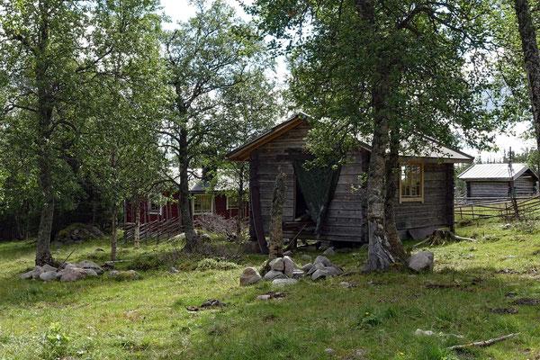 Berghütten im Sonfjället Nationalpark
