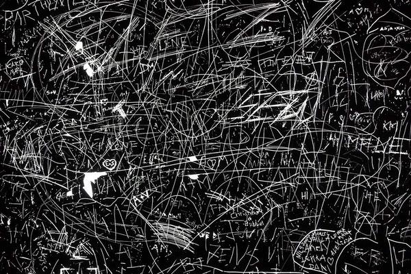 """""""Bürgerkunst"""" an einer Bushaltestelle"""