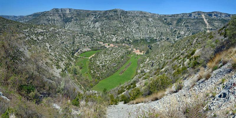 Le Cirque de Navacelles (Handy-Panorama)