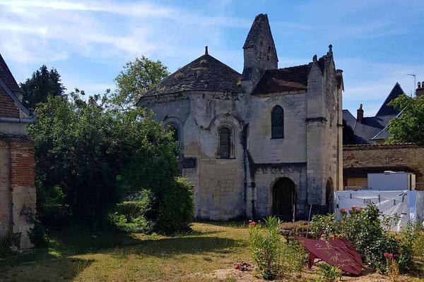 Die Templerkapelle wird renoviert