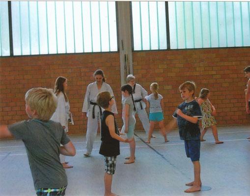 Ferienprogramm der OGGS Tecklenburg in Ledde