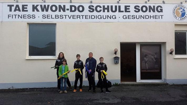Katja, Linus, Leon, Christian, Hannes - Herzlichen Glückwunsch!