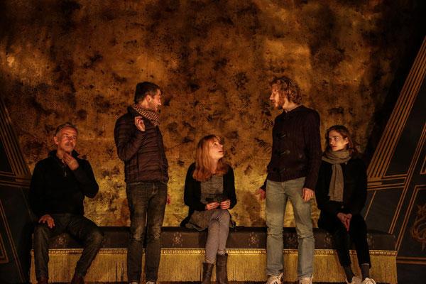 Le Misanthrope (Répétition) Jan 2014 © Joël Fabing