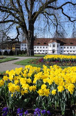 Kempten Hofgarten mit Orangerie