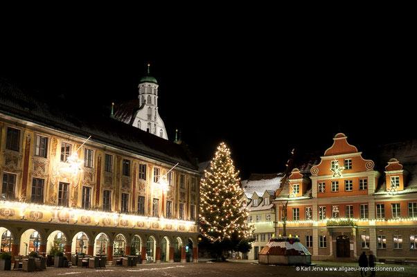 Steuerhaus und Rathaus Memmingen