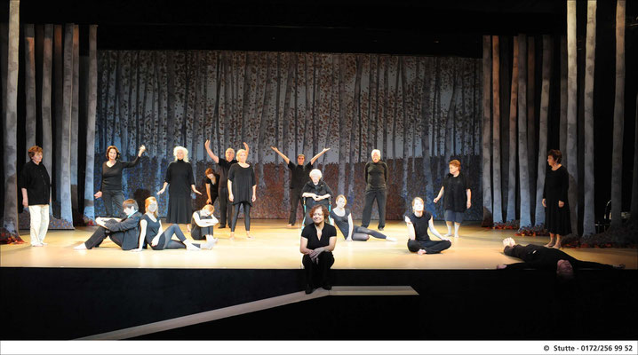 """""""Das erste Mal"""", Generationentheater Theater Krefeld Mönchengladbach, Foto: Matthias Stutte"""