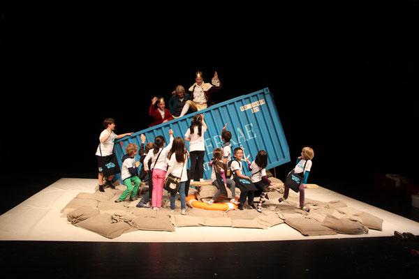 Kinderjury Hart am Wind 2014, Theater Bremen, Foto: Olaf Struck