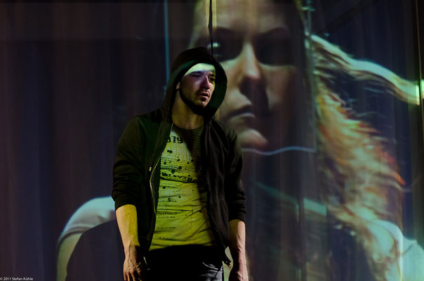 """""""Clyde und Bonnie"""", Theater Hagen, Foto: Stefan Kühle"""