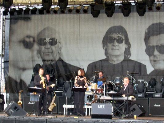 Swing for Fun - Jazzband auf der Phudys-Bühne