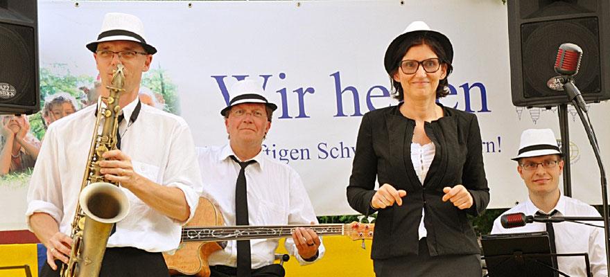 Sommerfest der Fördergesellschaft Kiwanis Club zu Schwerin mit Jazzmusik
