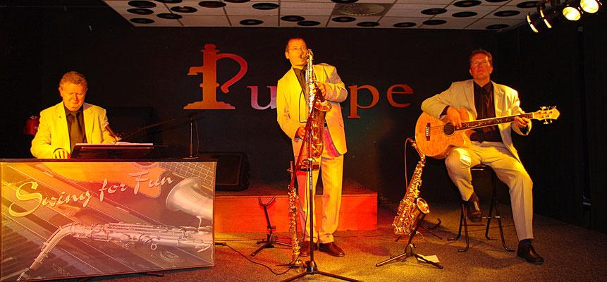 Hintergrund-Jazz in Rostock