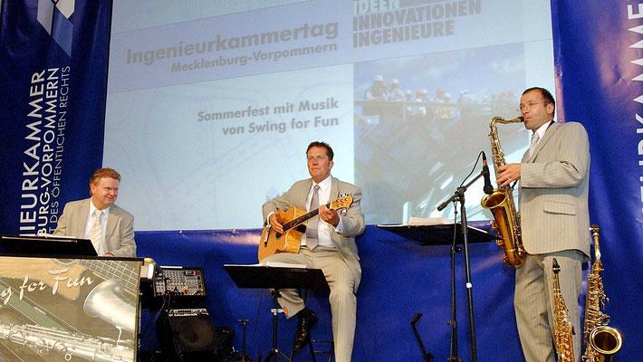 Jazz Trio beim Ingenieurkammertag Mecklenburg-Vorpommern