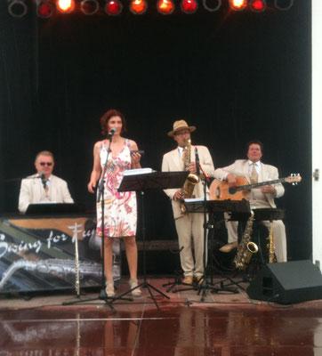 Jazzmusik zum Frühschoppen in Binz auf Rügen