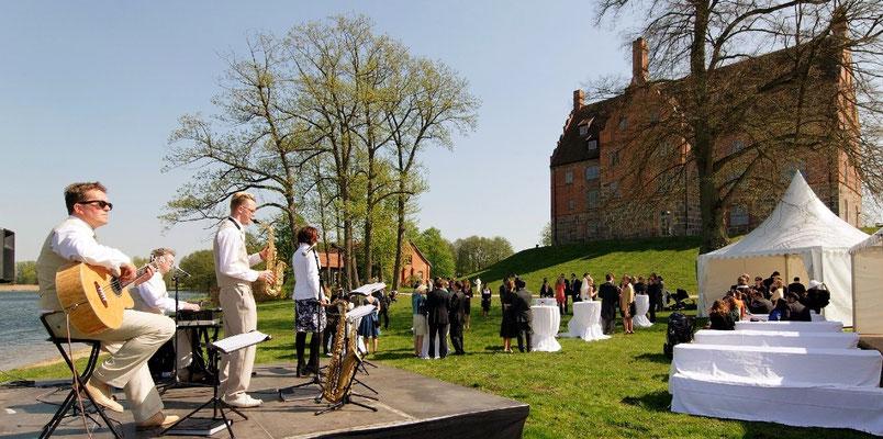Jazzmusik am Schloss Ulrichshusen