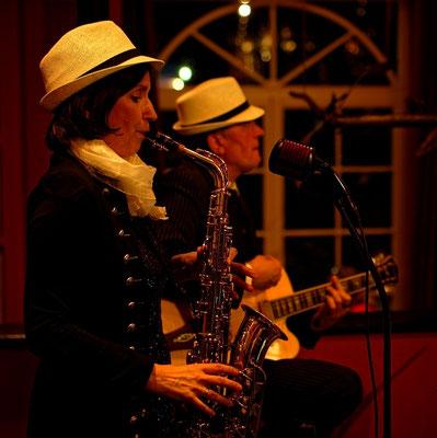 Jazzduo zur Zingster Musiknacht 2017 im Steigenberger Hotel Zingst