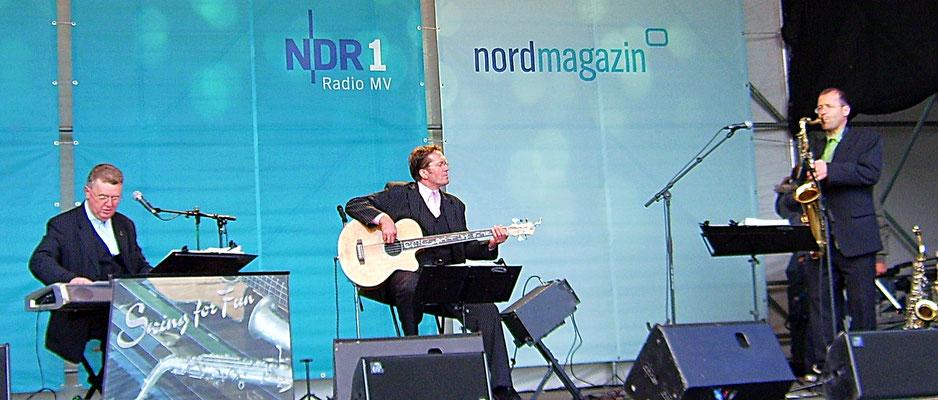 Swing for Fun beim NDR in Stralsund