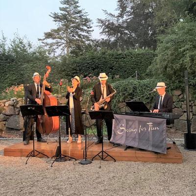 Jazzabend an der Burg Schlitz