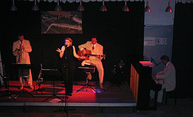Swing for Fun Jazzquartett in der Bühne 602 Rostock