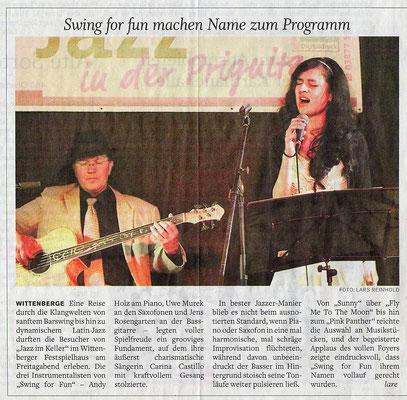 Eine Reise durch die Klangwelten von sanften Barswing hin zu dynamischem Latin-Jazz...