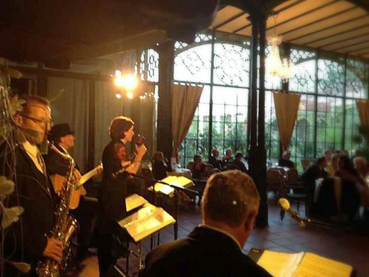 Swing for Fun in der Orangerie des Schweriner Schlosses