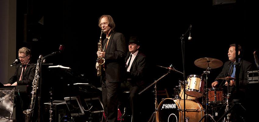 Jazzmusik zum Tanz in der Stadthalle Greifswald