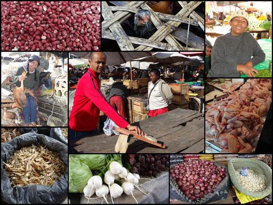 Foodmarked in Tsaralalane, Antananarivo