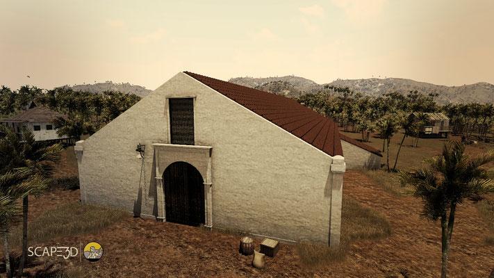 Ermita San Antonio de Padua: Reconstrucción virtual iglesias_SCAPE3D