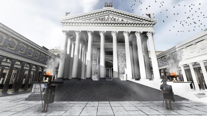 SCAPE3D_render vista del Foro