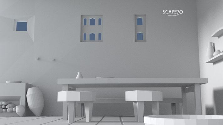 SCAPE3D_MATER: Casa della Fanciulla