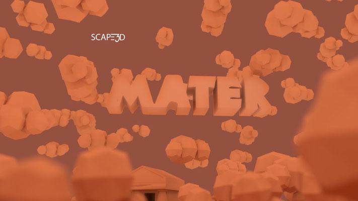 #MATERSCAPE3D scenografia 3d