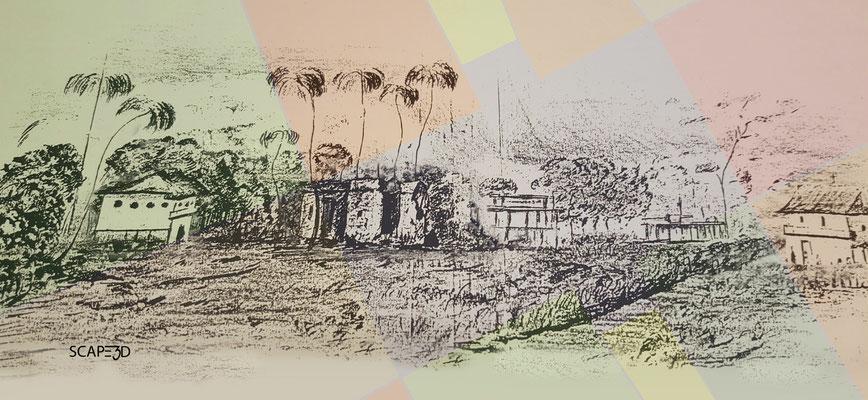 Ermita San Antonio de Padua: diseño de Augusto Pleè 1821 \ 1823_SCAPE3D