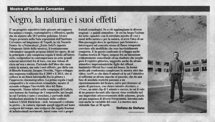 Corriere del Mezzogiorno, 12.12.2012
