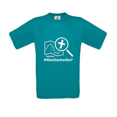 men / unisex shirt - diva blue