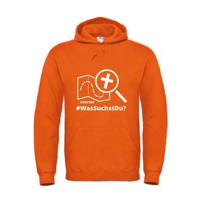 unisex hoody - orange