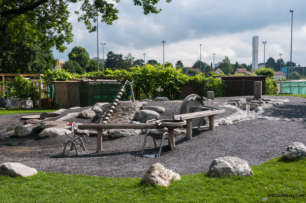 Brunnen Spielplatz Zelgli