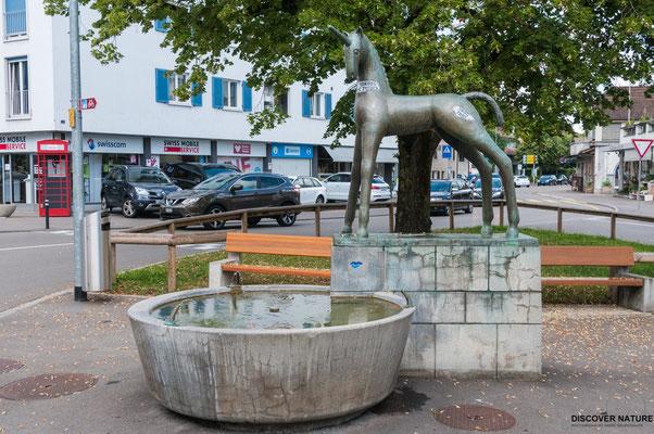 Einhornbrunnen Lindenplatz