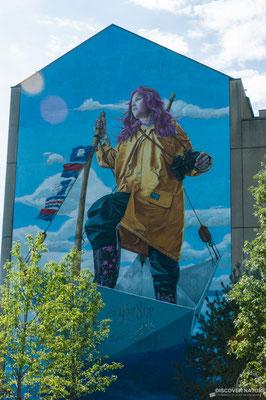 Wandbild Melody von Redl (Zürich)