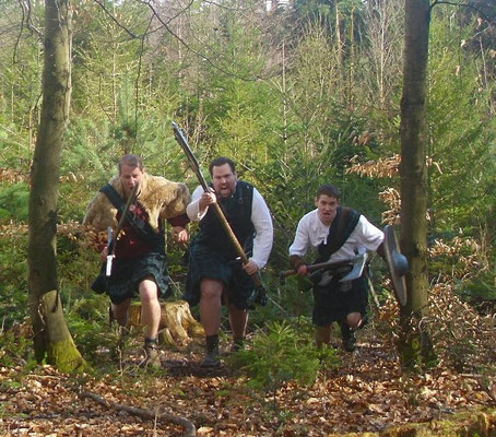 Clan McCregger - Langensteinbach 2010