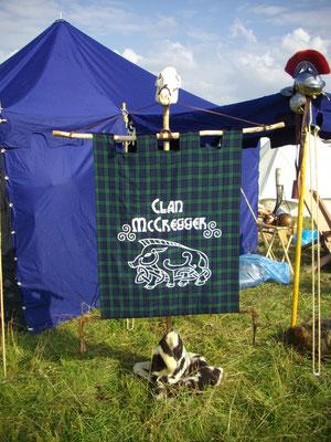 Banner vom Clan McCregger - Drachenfest 2010
