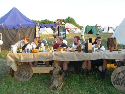 Clan McCregger - Festmahl am Freitag Abend - Drachenfest 2010