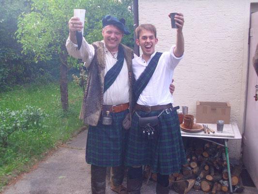 "Moray & Caradoc McCregger - Taverne ""Zur knorrigen Eiche"" - 30.04.2011"